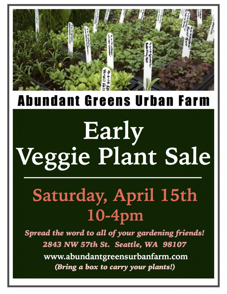 Early Veggie Plant Sale JPEG